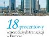 18-procentowy wzrost dużych transakcji w Europie