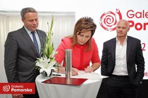 Podpisanie aktu erekcyjnego