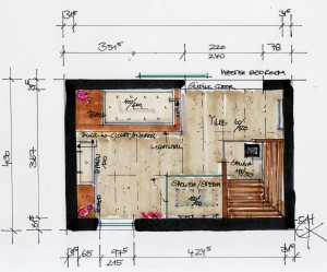 sketch_bathroom planning_family bathroom_en
