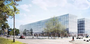 Zagospodarowanie terenu po b. hotelu Cracovia (2)