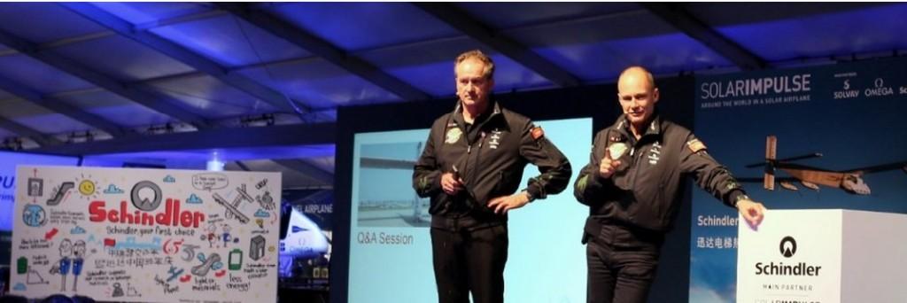 Schindler & Solar Impulse (piloci)
