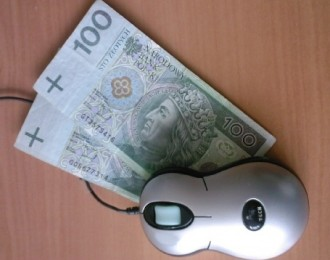 mysz i pieniądze kadr
