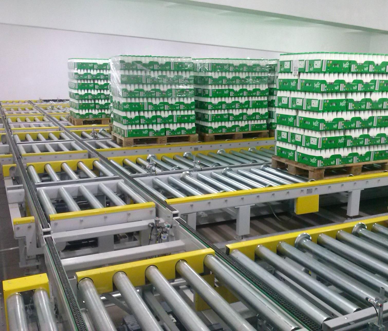 Automatyczny system przenośników - wdrożenie PROMAG w zakładzie mleczarskim_small
