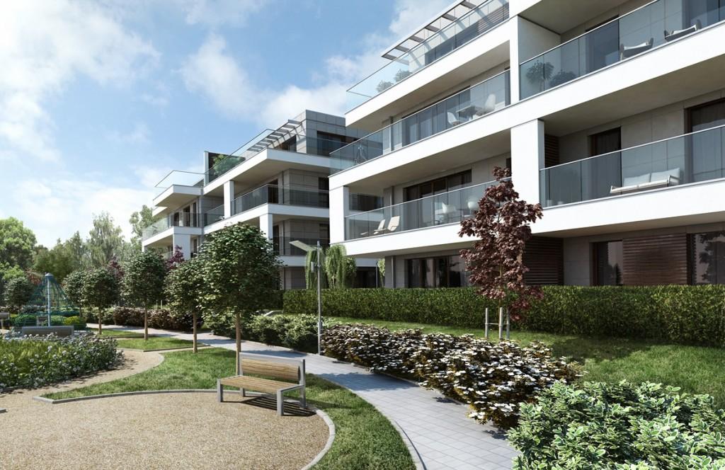Park Avenue Apartments - wizualizacja (2)